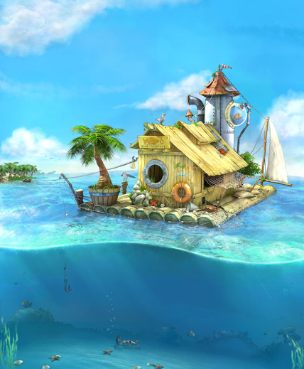 FishermanHouse on DeviantArt by PutooXor